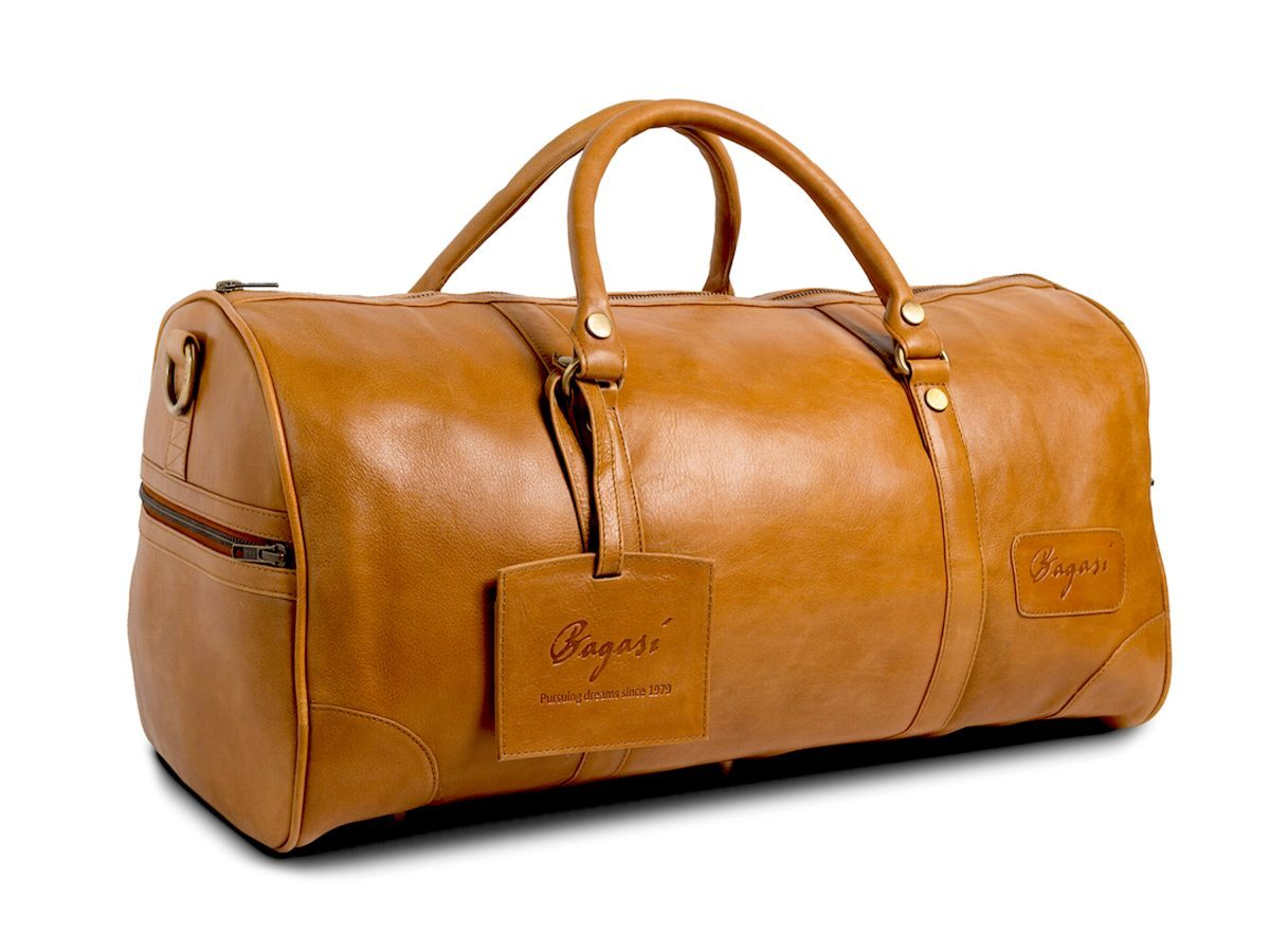 Weekendbag Leather Xl Cognac